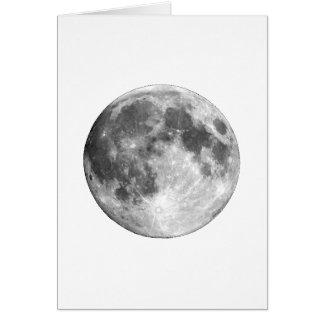 PLANET EARTH'S MOON (solar system) ~~ Card