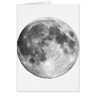PLANET EARTH'S MOON (solar system) ~ Card