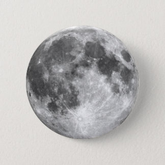PLANET EARTH'S MOON (solar system) ~ Pinback Button