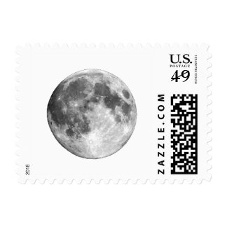 PLANET EARTH'S MOON (solar system) ~~ Postage