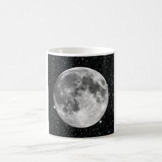 PLANET EARTH'S MOON star background (solar system) Coffee Mug