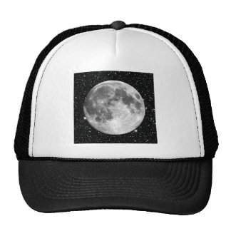 PLANET EARTH'S MOON star background (solar system) Trucker Hat