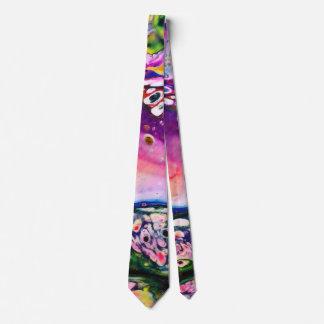 Planet escape neck tie