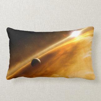 Planet Fomalhaut B Orbiting a Star Throw Pillow