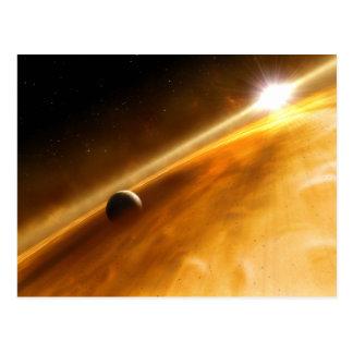 Planet Fomalhaut B Orbiting a Star Postcard