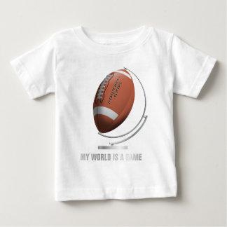 planet football world globe baby T-Shirt