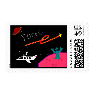 Planet Force stamp
