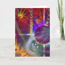 Planet Fractal Card