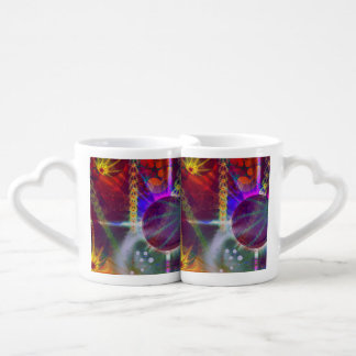 Planet Fractal Coffee Mug Set