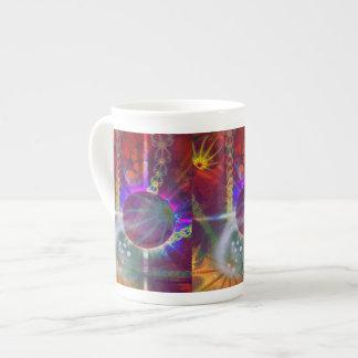 Planet Fractal Tea Cup