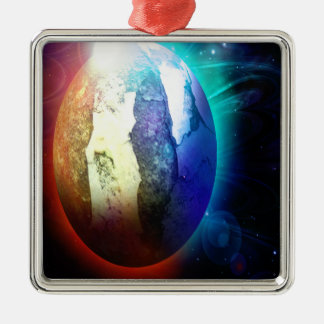 PLANET+gifts Metal Ornament