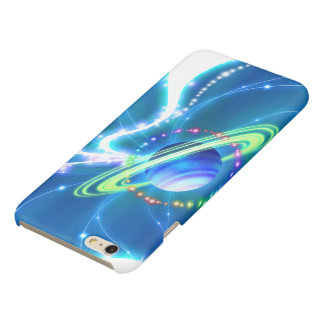 Planet Glossy iPhone 6 Plus Case