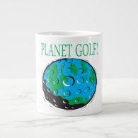 Planet Golf Extra Large Mug