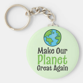 """Planet Great Again 2.25"""" Basic Button Keychain"""