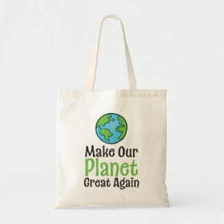 Planet Great Again Budget Tote