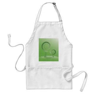 planet green adult apron