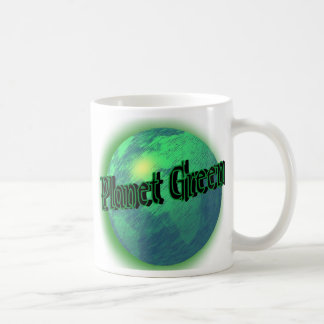Planet Green Coffee Mug