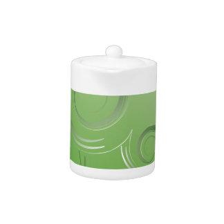 planet green teapot