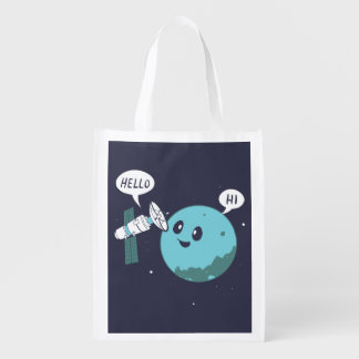 Planet Grocery Bag