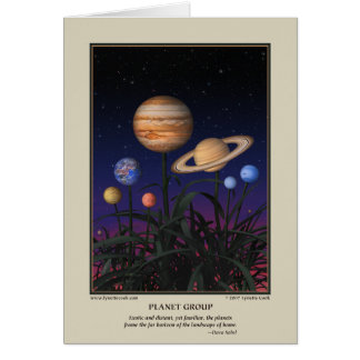 Planet Group Card