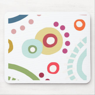 Planet Happy Mouse Pad