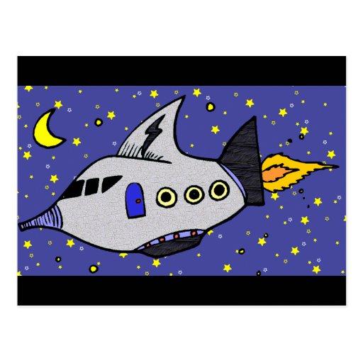 Planet Hopper Postcards