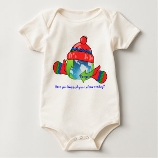 Planet Hug Recycle Infant Organic Creeper