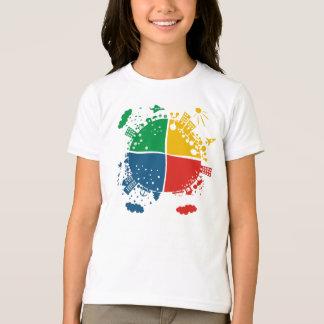 planet in 4 seasons T-Shirt