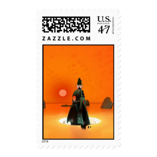 Planet Inferno Launch Postage