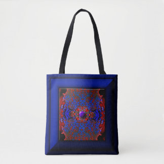 Planet Jewel All-Over-Print Tote Bag
