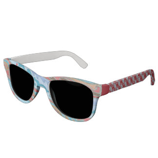 Planet Jupiter And Moons Colorful Space Geek Sunglasses