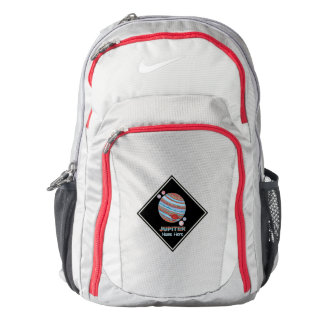 Planet Jupiter And Moons Colorful Space Geek Custo Backpack