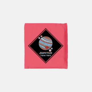 Planet Jupiter And Moons Colorful Space Geek Reusable Bag