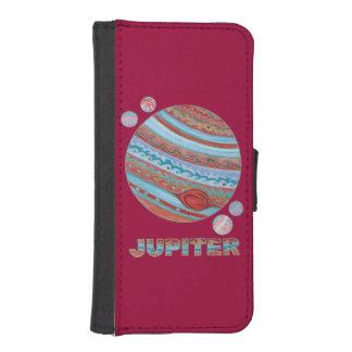 Planet Jupiter And Moons Space Geek Phone Wallet