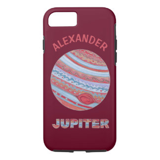 Planet Jupiter Colorful ifone7 Space Theme iPhone 8/7 Case