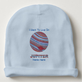 Planet Jupiter Colorful Space Geek Space Theme Baby Beanie