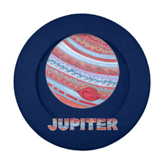 Planet Jupiter Colorful Space Geek Space Theme Pack Of Small Button Covers