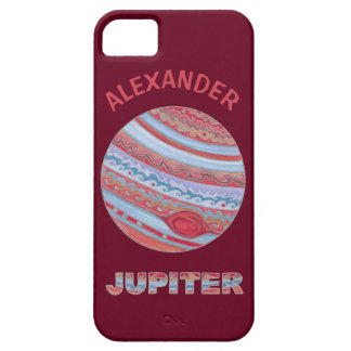 Planet Jupiter Colorful Space Geek Space Theme iPhone 5 Case