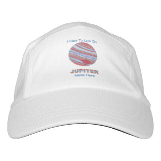 Planet Jupiter Colorful Space Geek Space Theme Headsweats Hat