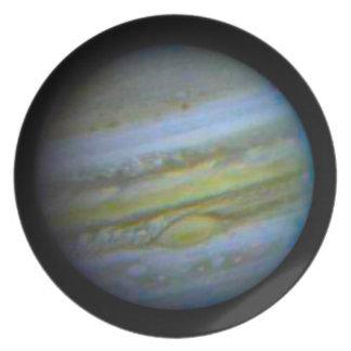 Planet Jupiter Dinner Plate