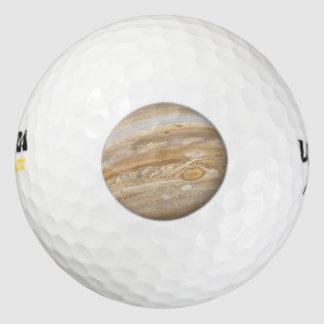 Planet Jupiter Golf Balls