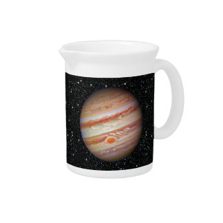 PLANET JUPITER  natural (red spot head on solar sy Pitcher