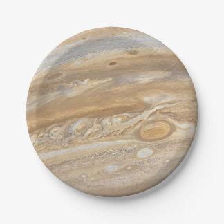 Planet Jupiter Paper Plates 7 Inch Paper Plate