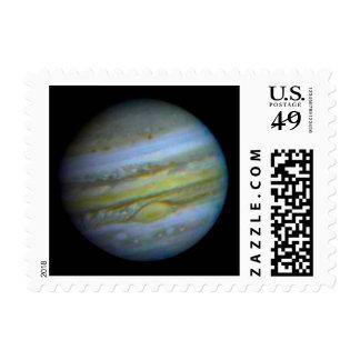 Planet Jupiter Postage Stamp.