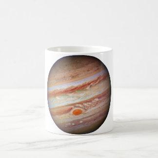 PLANET JUPITER - red spot head on (solar system) ~ Coffee Mug