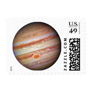 PLANET JUPITER - red spot head on (solar system) ~ Postage