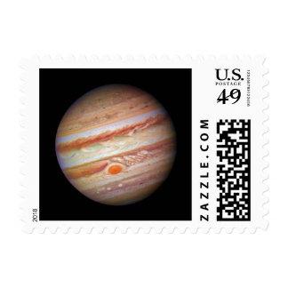 PLANET JUPITER ` red spot head on (solar system) ~ Postage Stamp