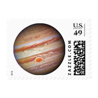 PLANET JUPITER - red spot head on (solar system) ~ Postage Stamp