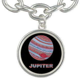 Planet Jupiter SciFi Space Geek Custom Jewelry Bracelet