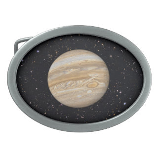Planet Jupiter Starry Sky Belt Buckle